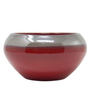 centrotavola-rosso-ceramica