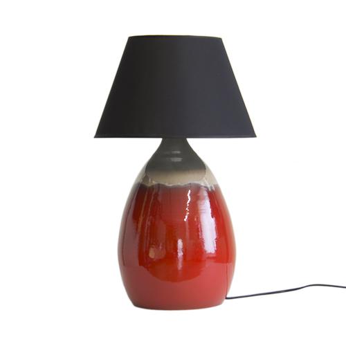 lampada-ceramica-rossa