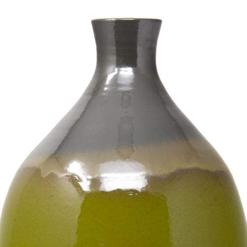 vaso-forma-bottiglia-verde