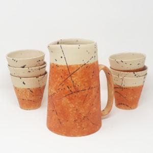 brocca-acqua-vino-ceramica