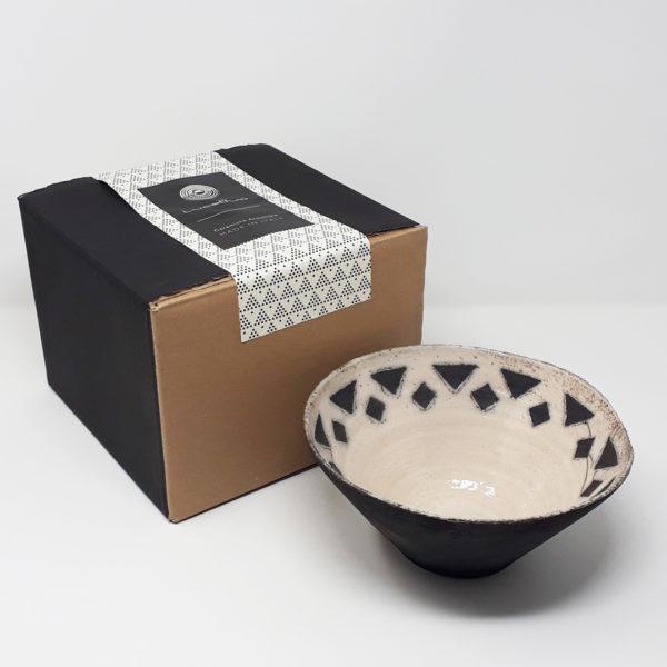 ciotola-ceramica-raku-porta-cioccolatini