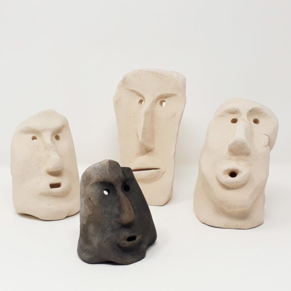 mascherine-carnevale-sardo-ceramica