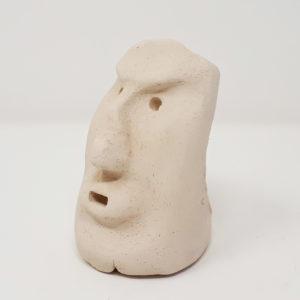 mascherina -ceramica-carnevale-sardegna