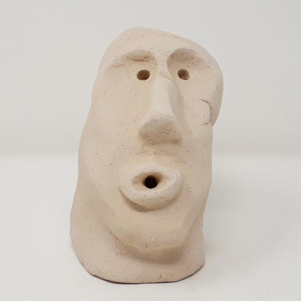 mascherina-sarda-ceramica-raku