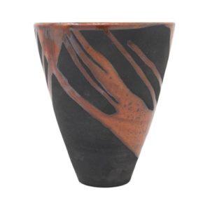 Vaso-ceramica-moderno-rosso