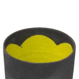 vaso-giallo-nero-raku
